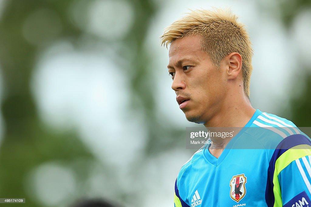 Japan Training & Press Conference : ニュース写真
