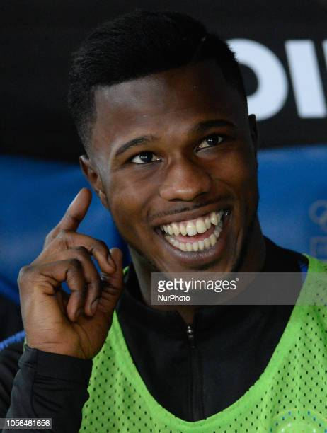 Keita Balde during the Italian Serie A football match between SS Lazio and Inter at the Olympic Stadium in Rome on october 29 2018