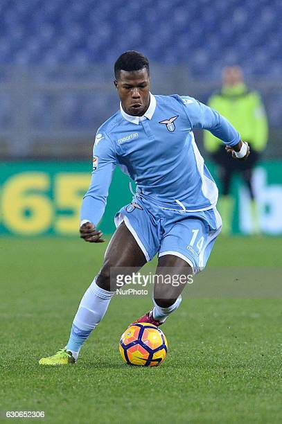 Keita Balde during the Italian Serie A football match between SS Lazio and Fiorentina at the Olympic Stadium in Rome on december 18 2016