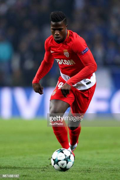 Keita Balde forward of AS Monaco FC in action during the UEFA Champions League Group G match between FC Porto and AS Monaco FC at Dragao Stadium on...