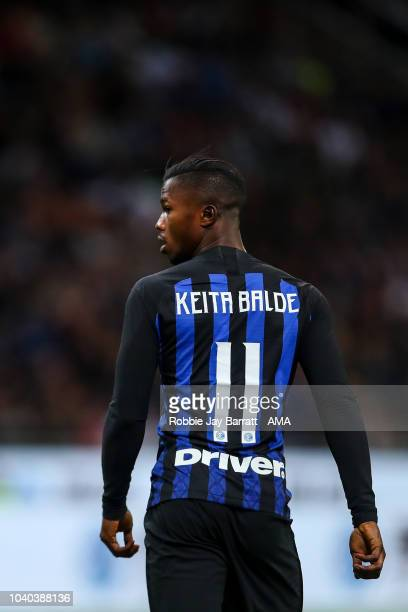 Keita Balde of FC Internazionale during the Serie A match between FC Internazionale v ACF Fiorentina at Stadio Giuseppe Meazza on September 25 2018...