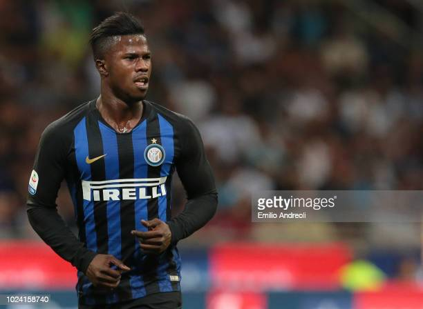 Keita Balde of FC Internazionale looks on during the serie A match between FC Internazionale and Torino FC at Stadio Giuseppe Meazza on August 26...