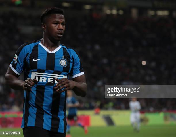 Keita Balde of FC Internazionale looks on during the Serie A match between FC Internazionale and Empoli FC at Stadio Giuseppe Meazza on May 26 2019...