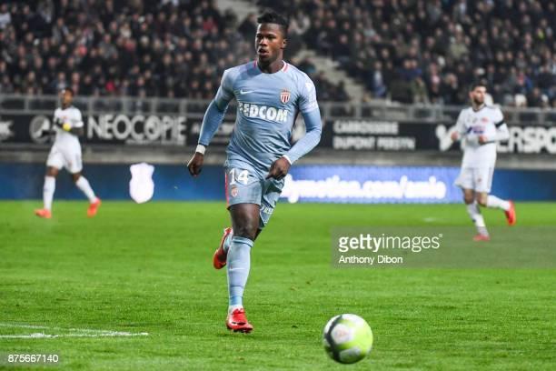 Keita Balde of Monaco during the Ligue 1 match between Amiens SC and AS Monaco at Stade de la Licorne on November 17 2017 in Amiens