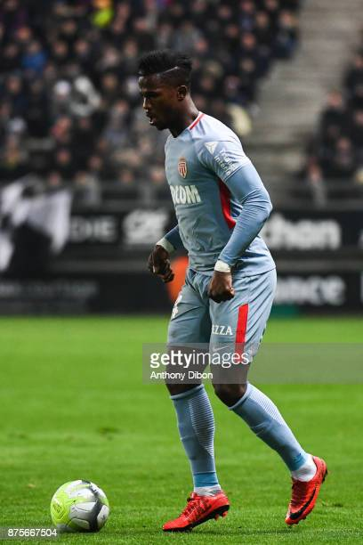 Keita Balde of Monaco during the Ligue 1 match between Amiens SC and AS Monaco at Stade de la Licorne on November 17 2017 in Amiens