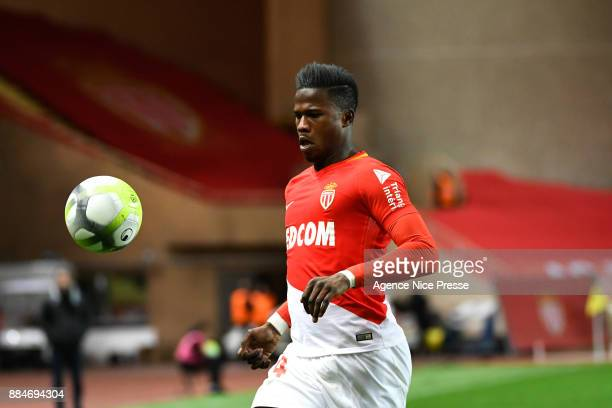 Keita Balde of Monaco during the Ligue 1 match between AS Monaco and Angers SCO at Stade Louis II on December 2 2017 in Monaco
