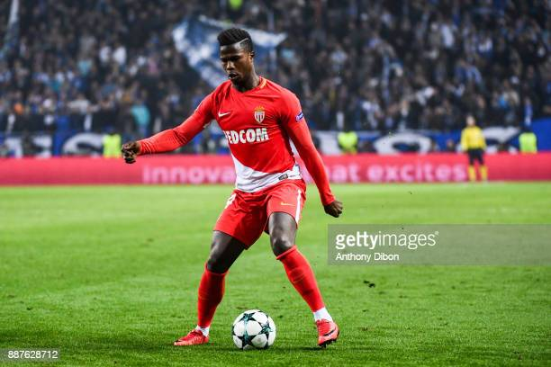 Keita Balde of Monaco during the Uefa Champions League match between Fc Porto and As Monaco at Estadio do Dragao on December 6 2017 in Porto Portugal