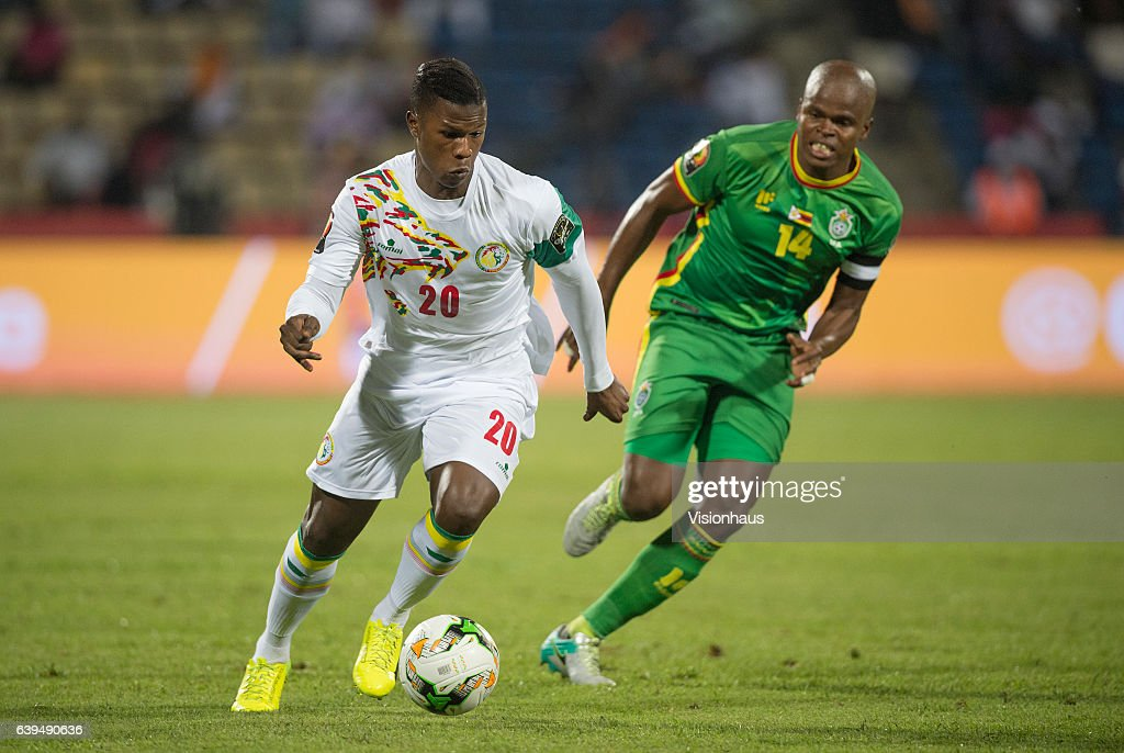 Senegal v Zimbabwe - 2017 Africa Cup of Nations: Group B : Photo d'actualité
