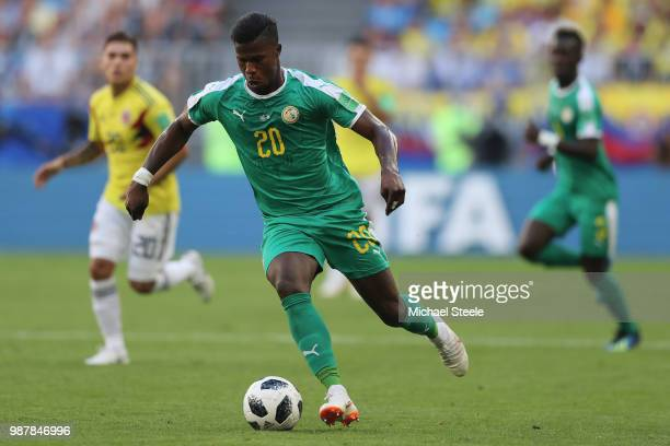 Keita Balde of Senegal during the 2018 FIFA World Cup Russia group H match between Senegal and Colombia at Samara Arena on June 28 2018 in Samara...