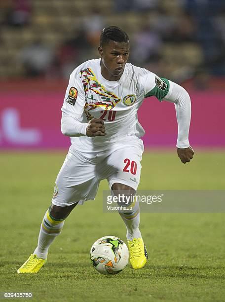 Keita Balde of Senegal during the Group B match between Senegal and Zimbabwe at Stade Franceville on January 19 2017 in Franceville Gabon