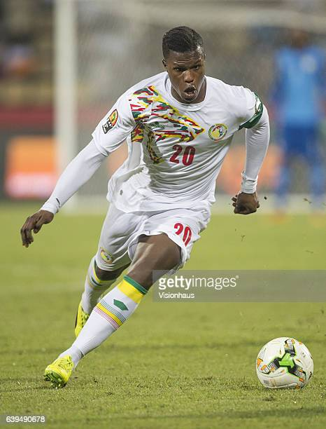 Keita Balde of Senegal during the Group B match between Senegal and Zimbabwe at Stade Franceville on January 19 2017 in Franceville Gabon