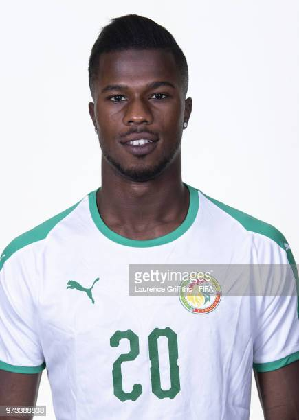 Keita Balde of Senegal poses for a portrait during the official FIFA World Cup 2018 portrait session at the Team Hotel on June 13 2018 in Kaluga...