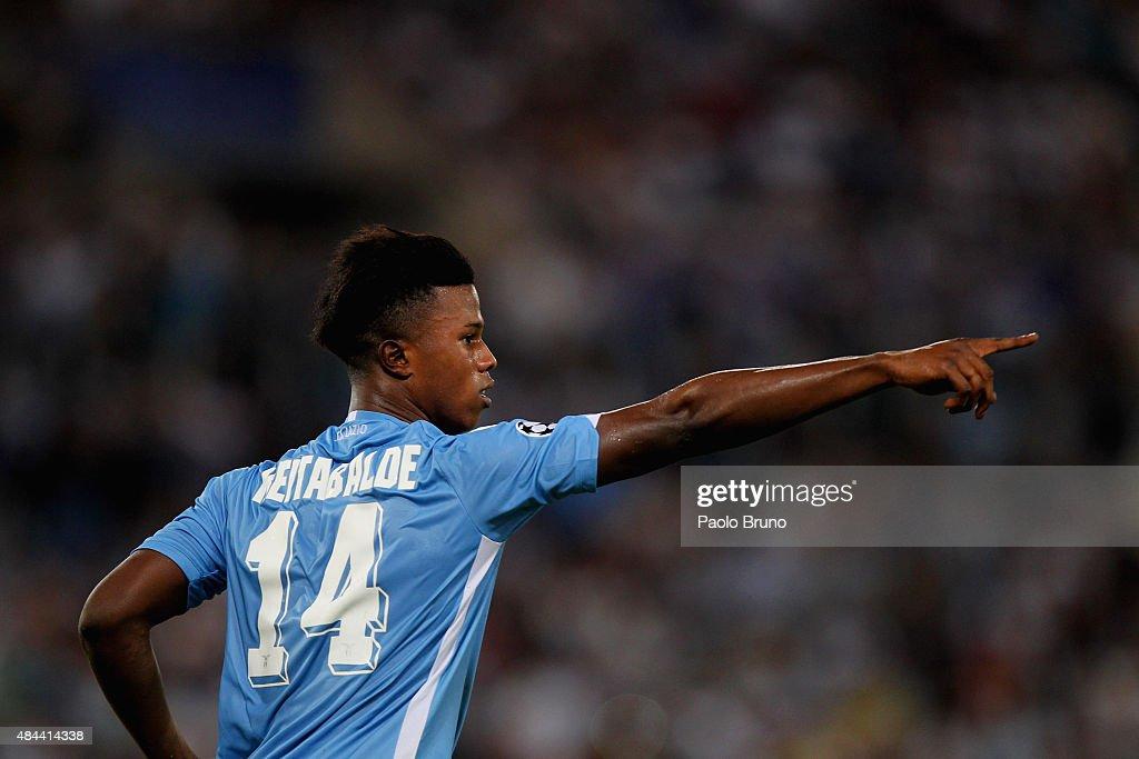SS Lazio v Bayer Leverkusen - UEFA Champions League: Qualifying Round Play Off First Leg : ニュース写真