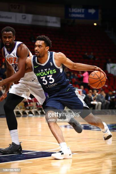 Keita BatesDiop of the Iowa Wolves handles the ball against the Northern Arizona Suns in an NBA GLeague game on December 1 2018 at the Wells Fargo...
