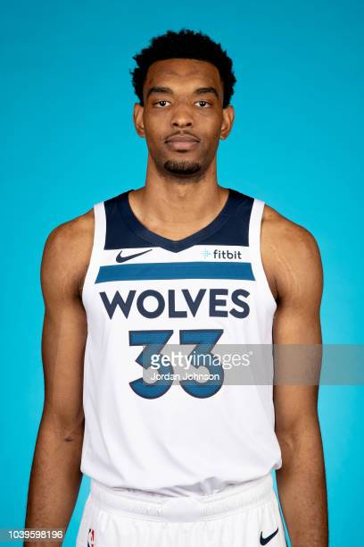 Keita BatesDiop of the Minnesota Timberwolves poses for a headshot during the 2018 Media Day on September 24 2018 at Target Center in Minneapolis...