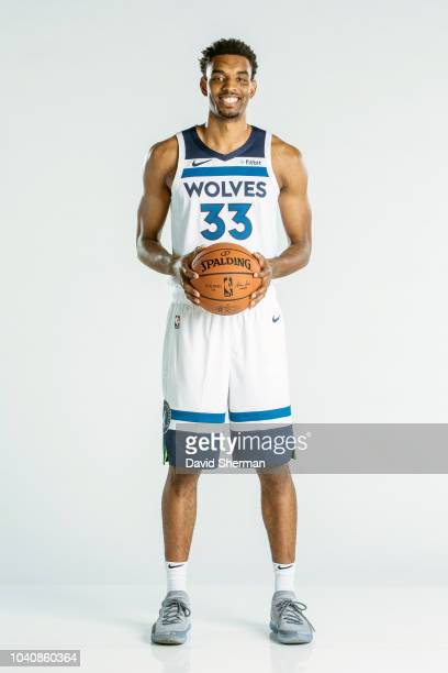 Keita BatesDiop of the Minnesota Timberwolves poses for a portrait during the 2018 Media Day on September 24 2018 at Target Center in Minneapolis...