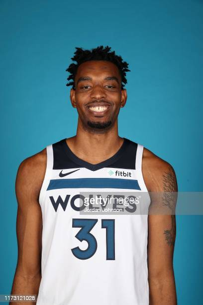 Keita BatesDiop of the Minnesota Timberwolves poses for head shot during 2019 Media Day on September 30 2019 at Target Center in Minneapolis...