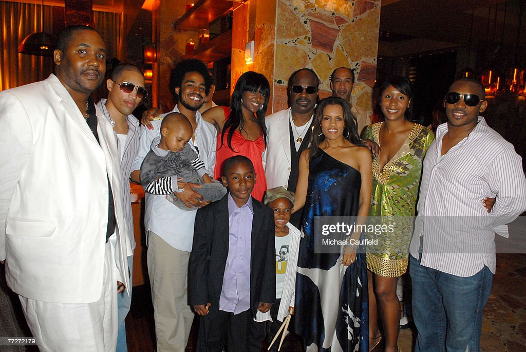 Stevie Wonder Celebrates His 57th Birthday at the Grand Opening of The Cove Atlantis Resort on Paradise Island, Bahamas
