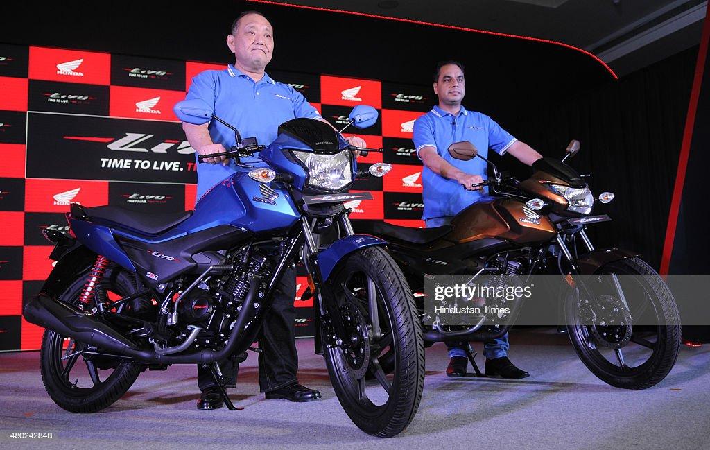 Keita Muramatsu President And CEO Of Honda Motorcycle Scooter India YS Guleria