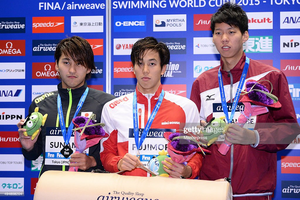 FINA Swimming World Cup 2015 - Day 2 : News Photo