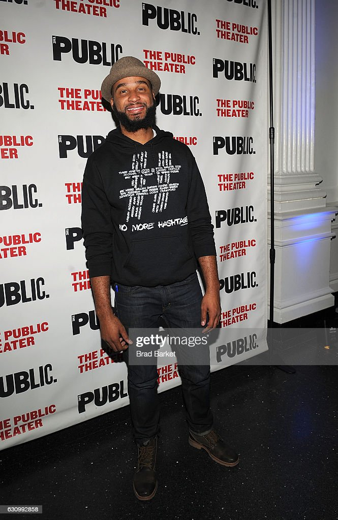 Keith A. Wallace attends the 13th Annual Under the Radar Festival 2017 Opening Night at The Public Theater on January 4, 2017 in New York City.