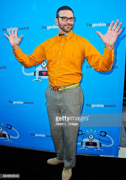 Keith Allan arrives for the 3rd Annual Geekie Awards held at Club Nokia on October 15 2015 in Los Angeles California