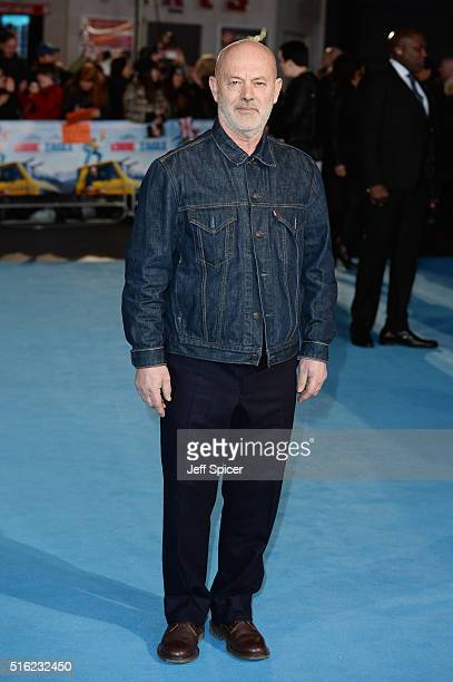 Keith Allen arrives for the European premiere of 'Eddie The Eagle' at Odeon Leicester Square on March 17 2016 in London England
