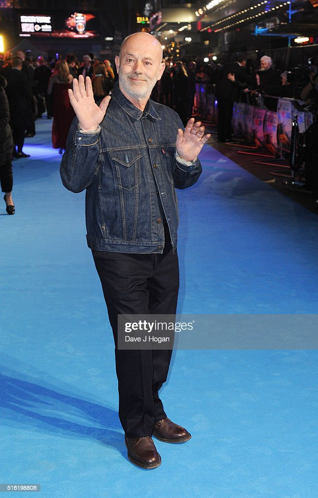 Keith Allen attends the European premiere of 'Eddie The Eagle' at Odeon Leicester Square on March 17, 2016 in London, England.