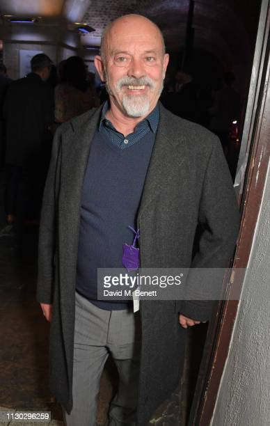 Keith Allen attends the press night after party for Betrayal at The Cafe In The Crypt St MartinintheFields on March 13 2019 in London England