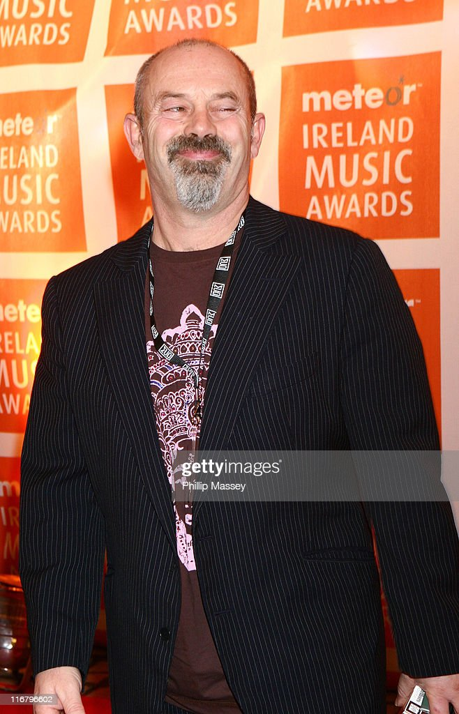 Keith Allen during Meteor Ireland Music Awards 2007 at The Point in Dublin, Ireland.