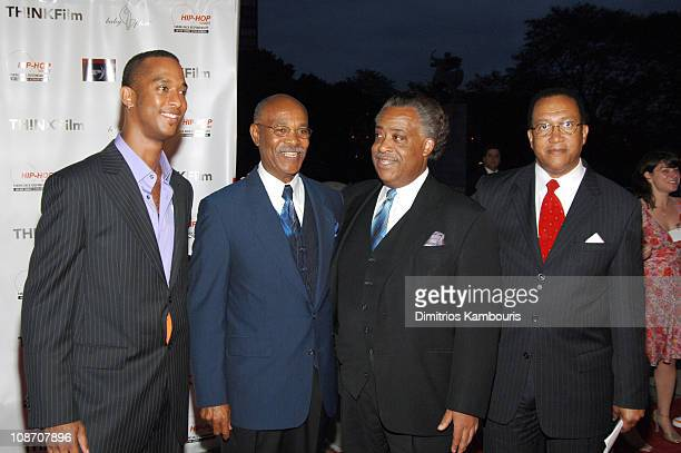 Keith Beauchamp director and Simeon Wright Rev Al Sharpton and Dr Benjamin Chavis