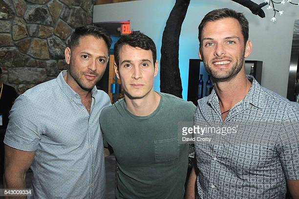Keith Black Frank Meli and Ken St Pierre attend the 2016 Palm Springs International ShortFest Friday Screenings Events on June 24 2016 in Palm...