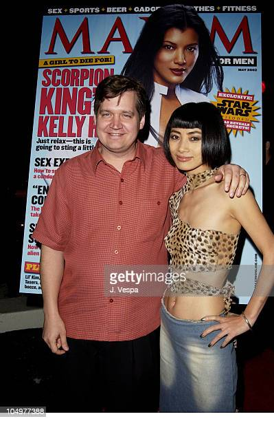 Keith Blanchard EditorinChief of Maxim and Bai Ling