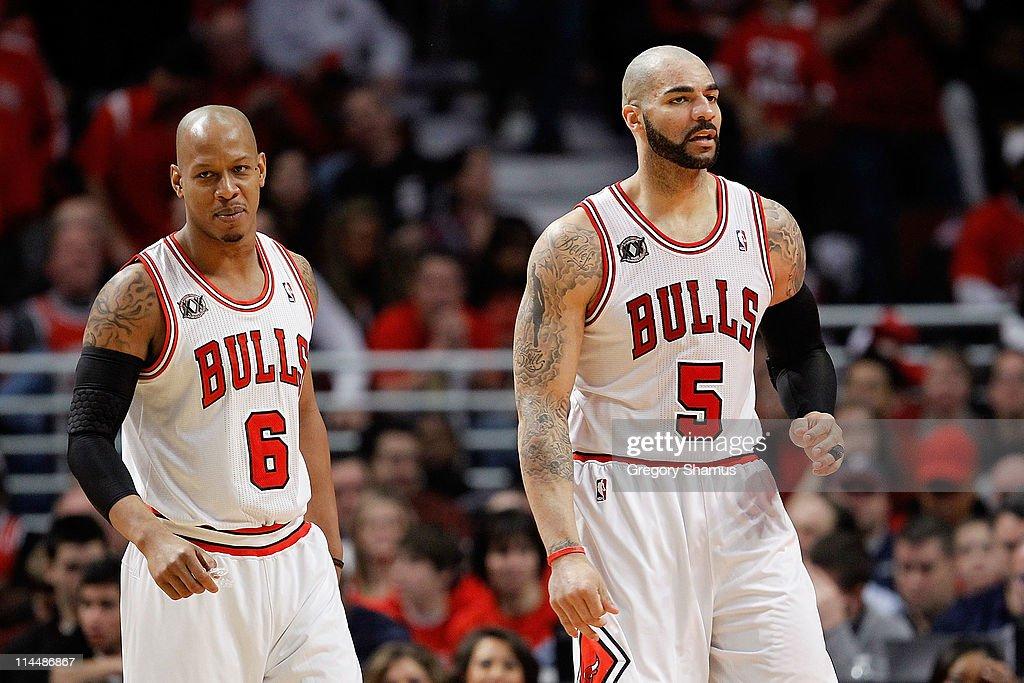 Miami Heat v Chicago Bulls - Game One