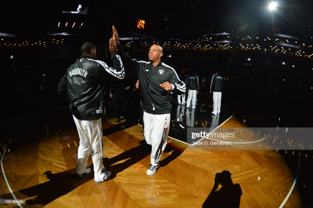 Keith Bogans #10 of the Brooklyn Nets runs out before the game against the Philadelphia 76ers at the Barclays Center on December 23, 2012 in Brooklyn, New York.