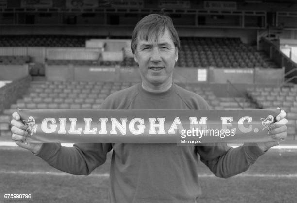 Keith Burkinshaw Gillingham Town FC Fotball Manager 1988-89, pictured at the Priestfield Stadium November 1988. Former manager of Tottenham Hotspur...