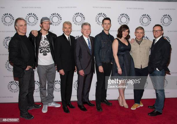 Keith Carradine Russell Harvard Billy Bob Thornton Warren Littlefield Colin Hanks Allison Tolman Martin Freeman and Noah Hawley attends the Paley...
