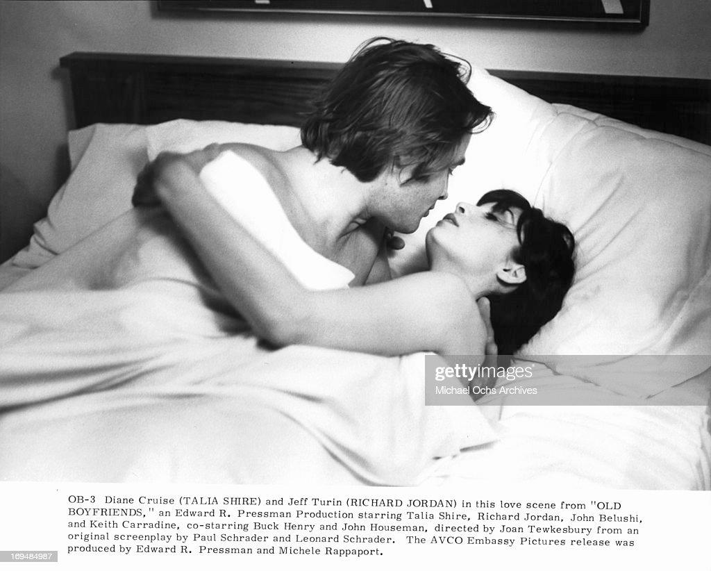 Keith Carradine And Talia Shire In 'Old Boyfriends' : News Photo