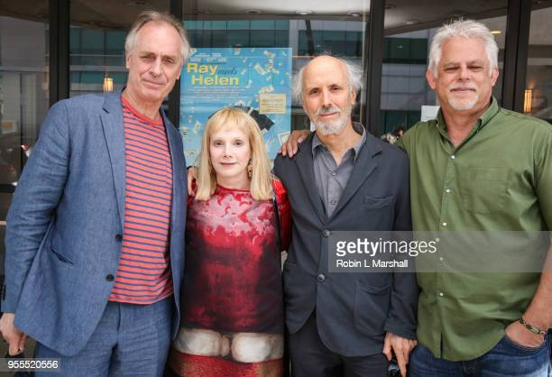 Keith Carradine Sondra Locke Alan Rudolph and Steven J Wolfe attend the screening of Alan Rudolph's 'Ray Meets Helen' at Laemmle's Music Hall 3 on...
