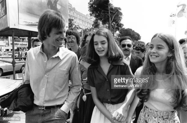 Keith Carradine venu présenter le film 'Pretty Baby' en compagnie de Brooke Shields et de sa soeur sur la Croisette lors du Festival de Cannes le 20...