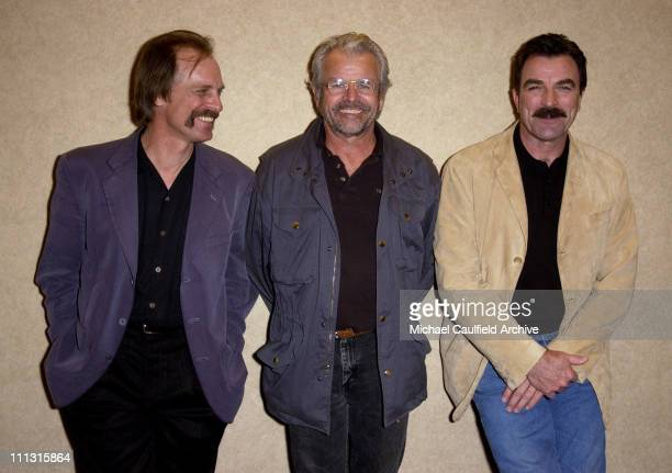 Keith Carradine William Devane and actor/executive producer Tom Selleck