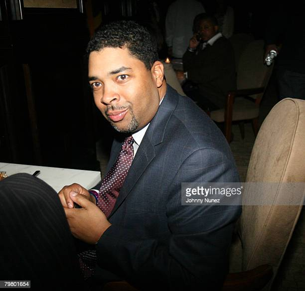 Keith Clinkscales attends the 2008 NBA AllStar in New Orleans ESPN The Magazine's Chicken `N' Waffles event at Harrah's Hotel February 16 2008 in New...
