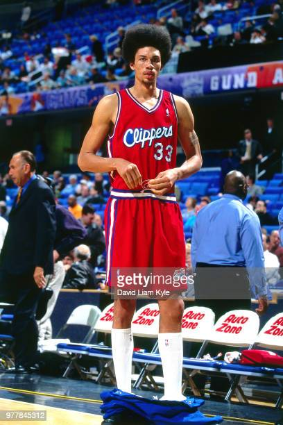 Keith Closs of the LA Clippers looks on before the game against the Cleveland Cavaliers on January 10 2000 at Gund Arena in Cleveland Ohio NOTE TO...