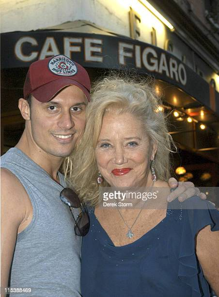 e8291fbc Keith Collins and Sally Kirkland during Sally Kirkland and Keith Collins  Sighting in New York City's