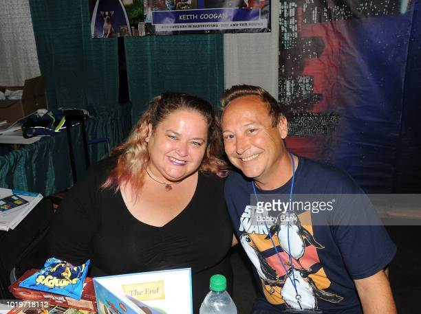 Keith Coogan and his wife Kristen Shean attend the 2018 STL Pop Culture Con at St Charles Convention Center on August 19 2018 in St Charles Missouri