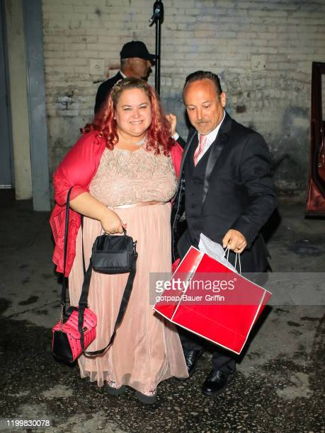 Keith Coogan and Kristen Shean are seen on February 09 2020 in Los Angeles California