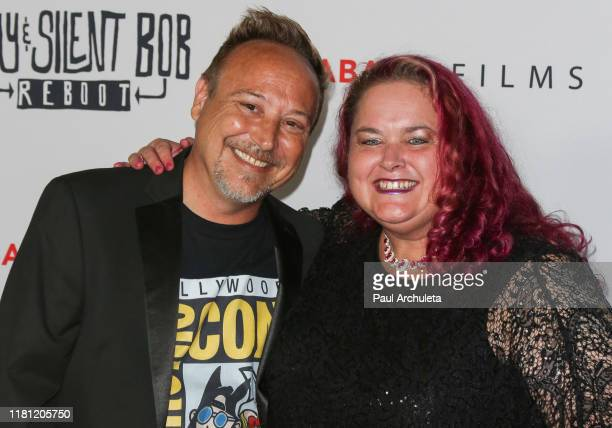 Keith Coogan and Kristen Shean attend the Premiere of Jay Silent Bob Reboot at TCL Chinese Theatre on October 14 2019 in Hollywood California