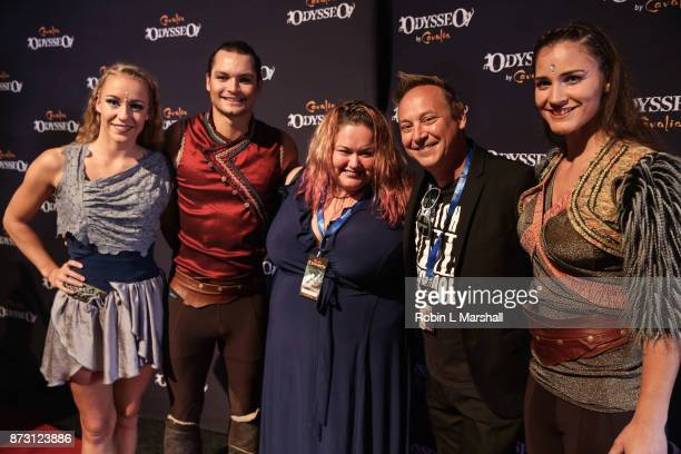 Keith Coogan and wife Kristen Shean attend Cavalia Odysseo Celebrity Premiere on November 11 2017 in Camarillo California