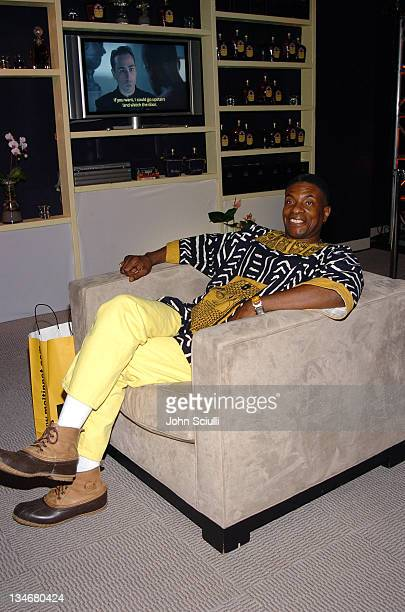 Keith David at Crown Royal Lounge during Red Carpet '05 Oscar Suite Day One at Pacific Design Center in West Hollywood California United States