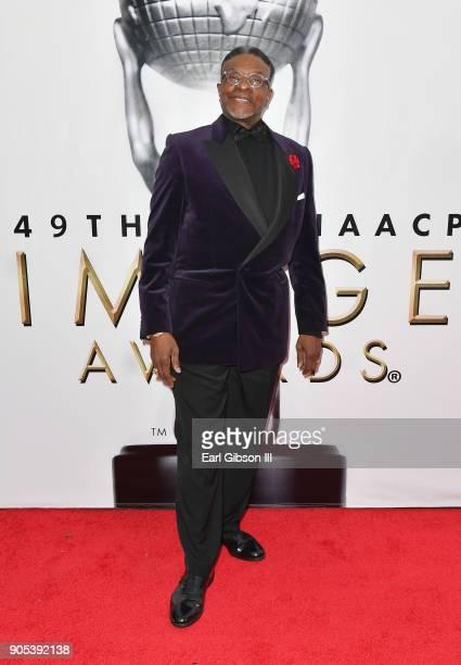 Keith David at the 49th NAACP Image Awards on January 15 2018 in Pasadena California
